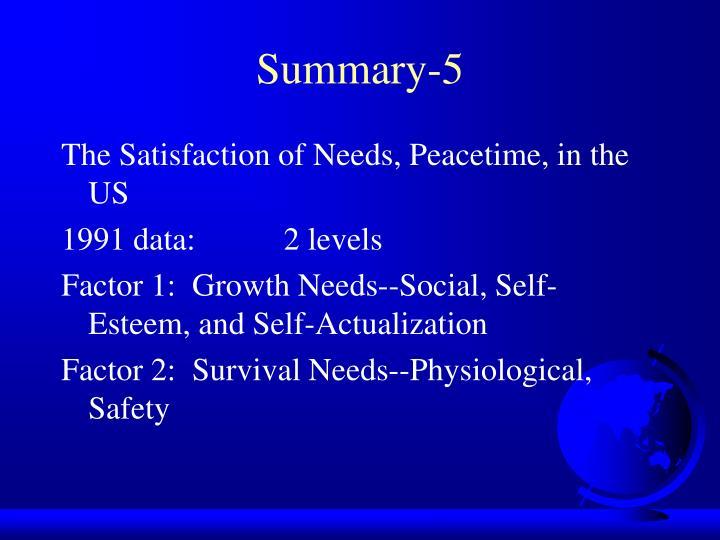 Summary-5