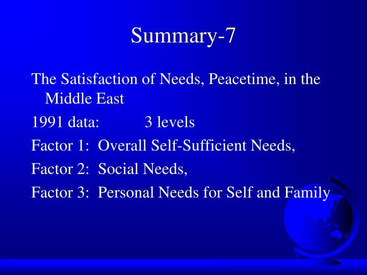 Summary-7