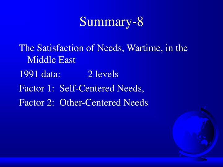 Summary-8