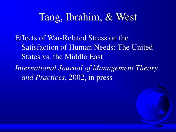 Tang, Ibrahim, & West