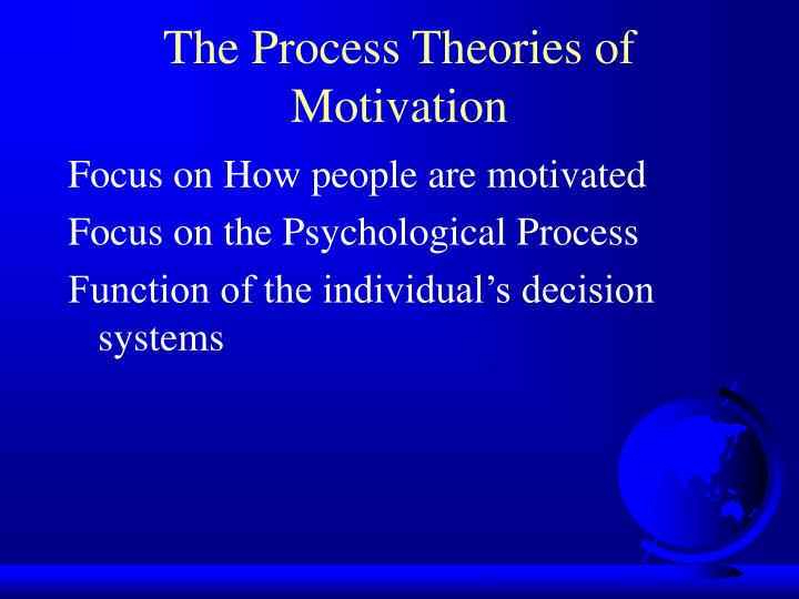 The Process Theories of