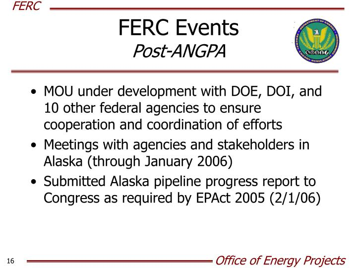 FERC Events