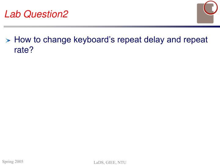 Lab Question2