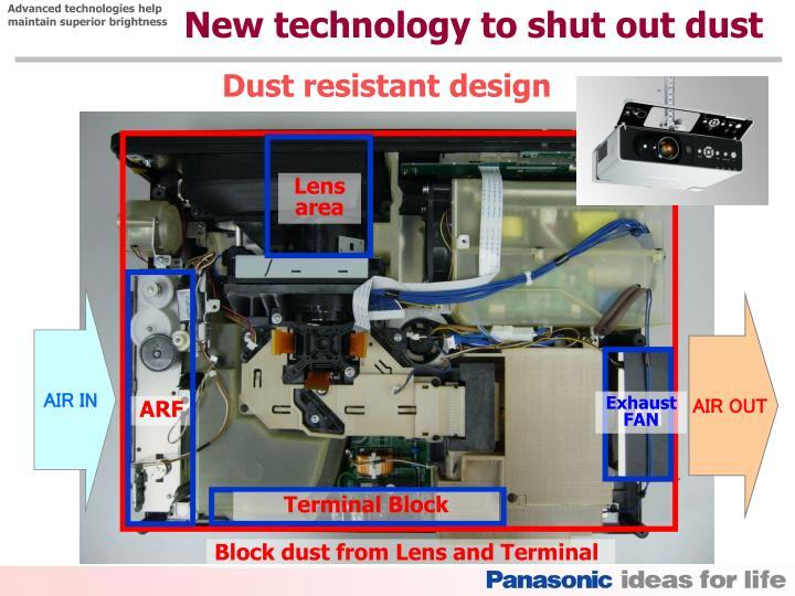 Advanced technologies help
