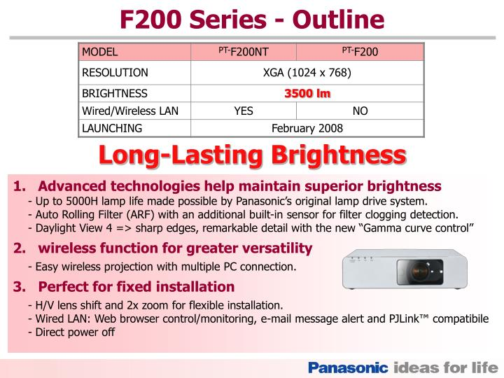 F200 Series
