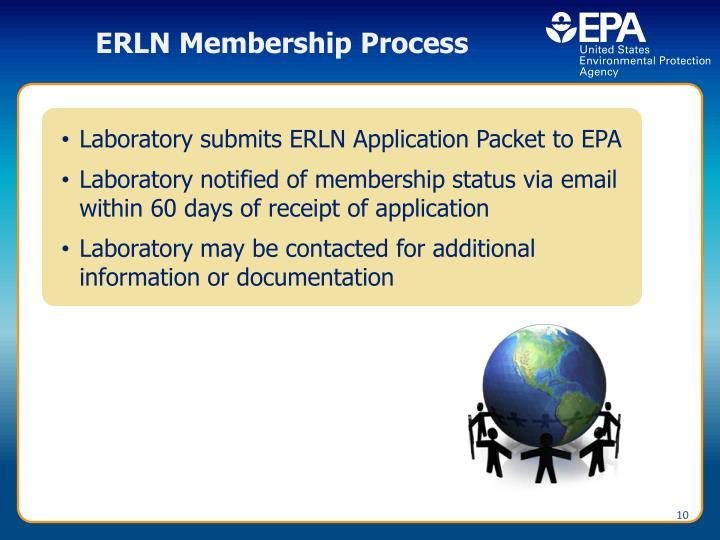 ERLN Membership Process