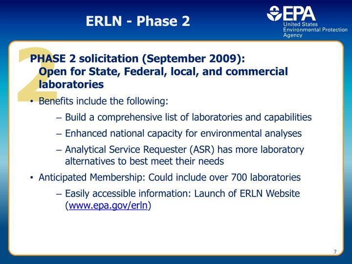 ERLN - Phase 2