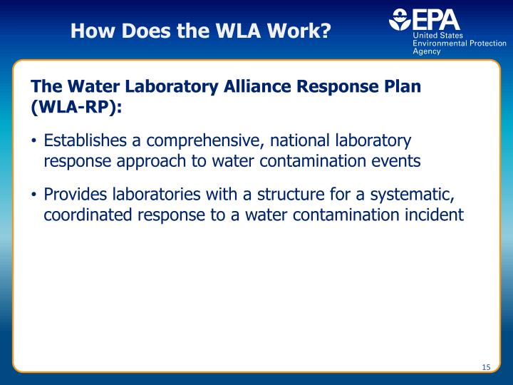 How Does the WLA Work?