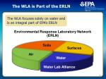 the wla is part of the erln