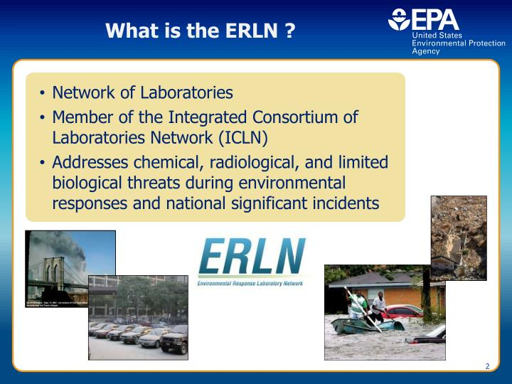 What is the ERLN ?