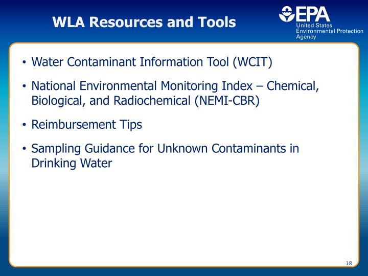 WLA Resources and Tools