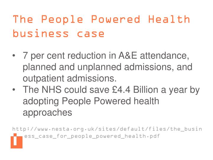 The People Powered Health business case