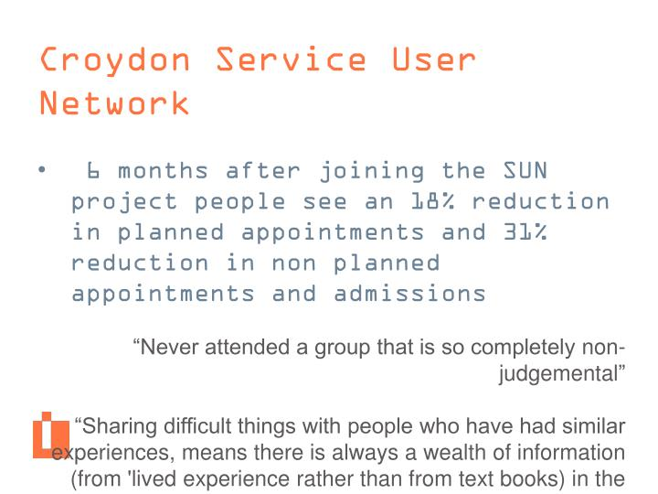 Croydon Service User Network