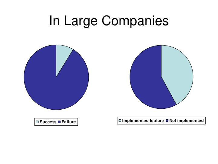 In Large Companies