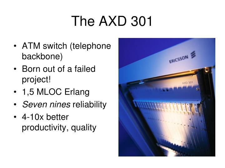 The AXD 301