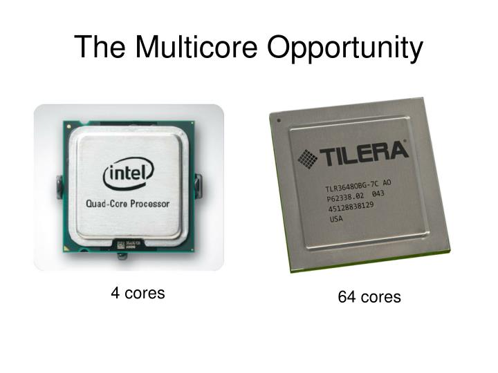 The Multicore Opportunity