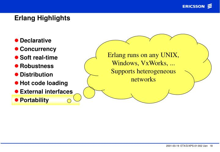 Erlang Highlights