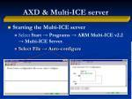 axd multi ice server