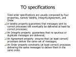 to specifications