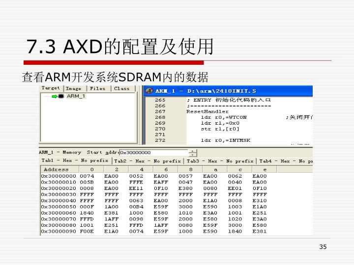 7.3 AXD