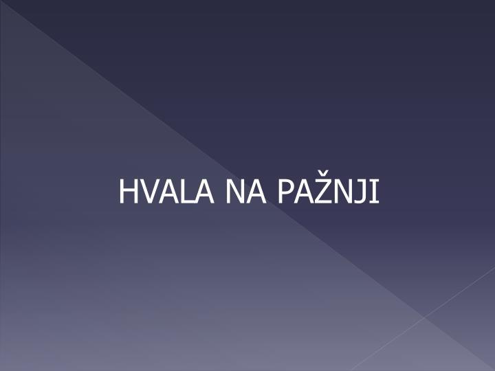 HVALA NA PA