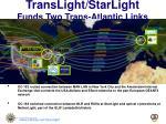 translight starlight funds two trans atlantic links