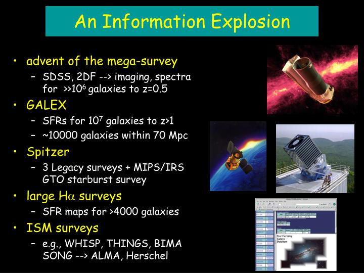 An Information Explosion
