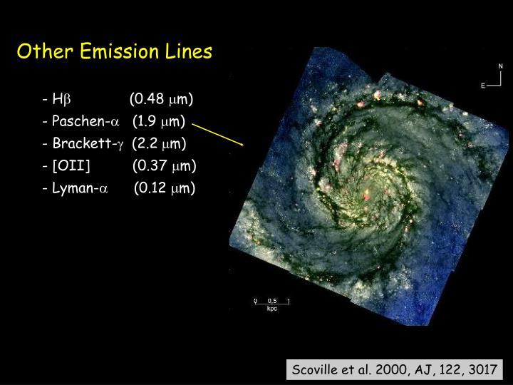 Other Emission Lines