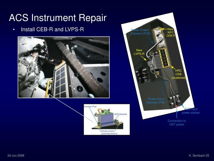 ACS Instrument Repair