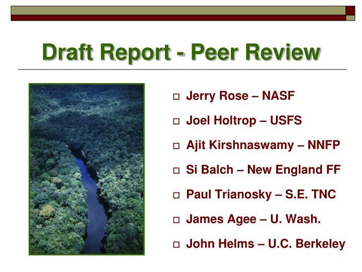 Jerry Rose – NASF