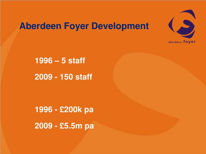 Aberdeen Foyer Development