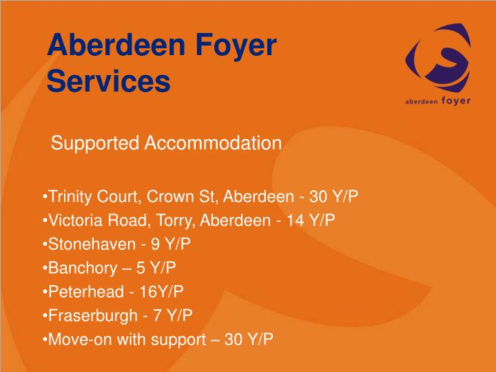 Aberdeen Foyer Services