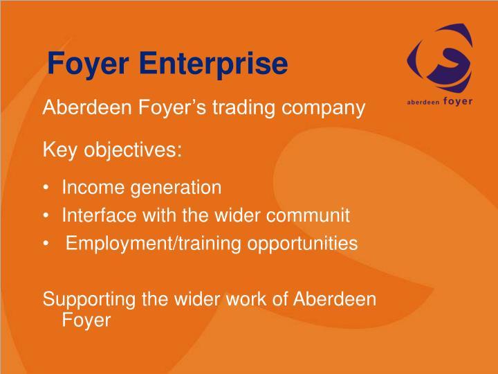 Foyer Enterprise