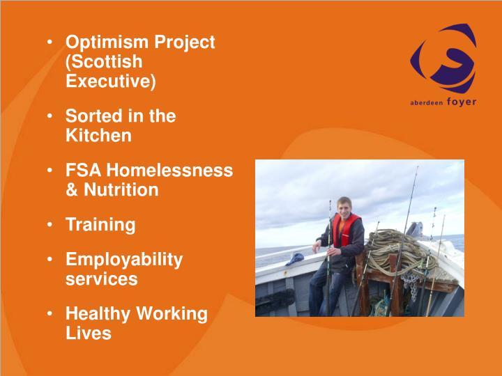 Optimism Project (Scottish Executive)
