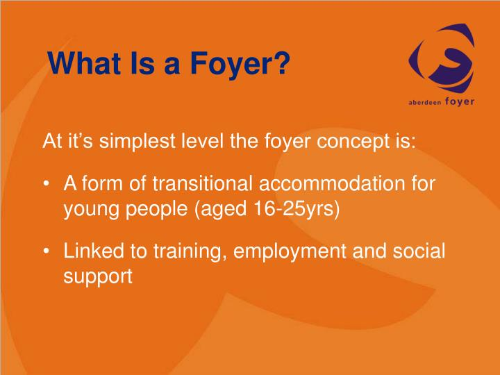 What Is a Foyer?