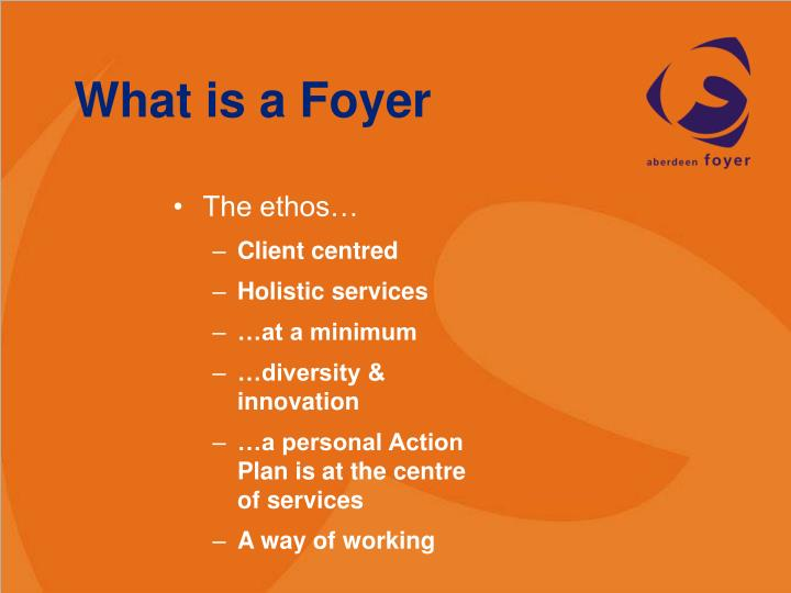 What is a Foyer