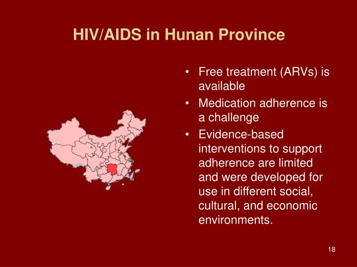 HIV/AIDS in Hunan Province