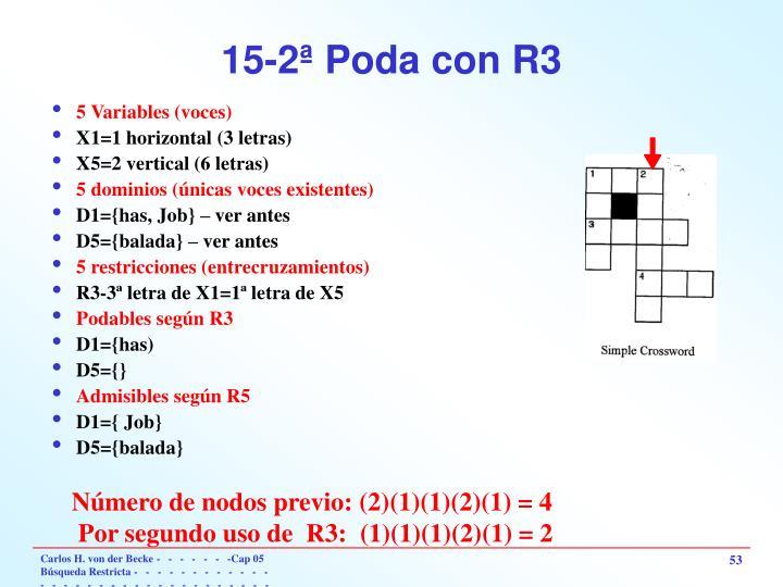 15-2ª Poda con R3