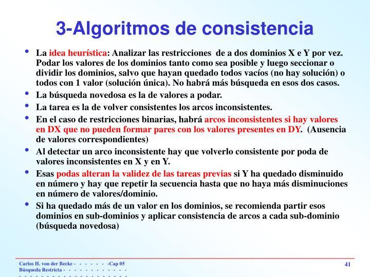 3-Algoritmos de consistencia