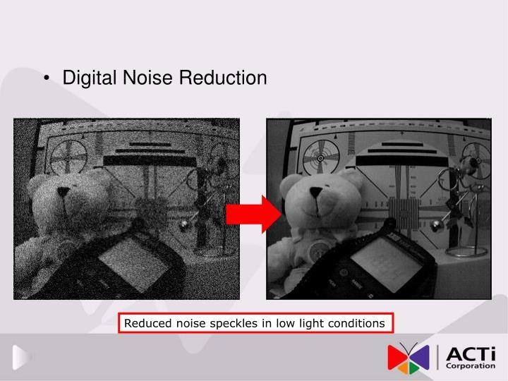 Digital Noise Reduction