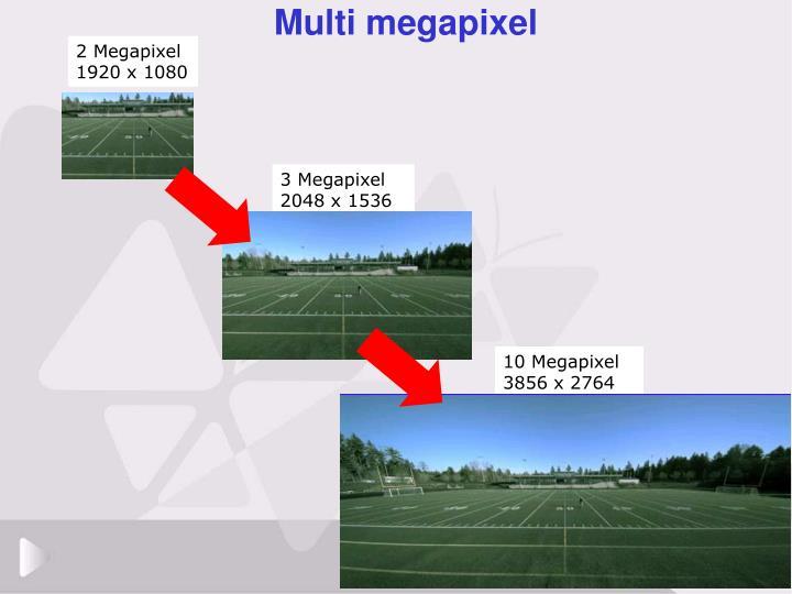 Multi megapixel