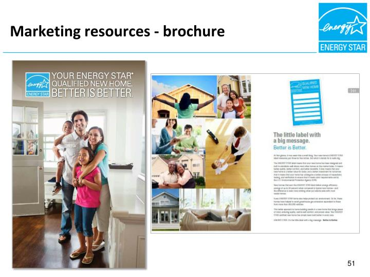 Marketing resources - brochure