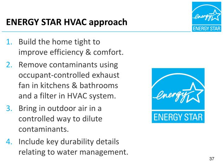 ENERGY STAR HVAC approach