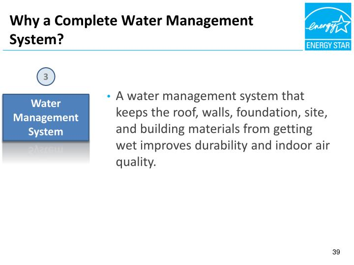 Why a Complete Water Management System?