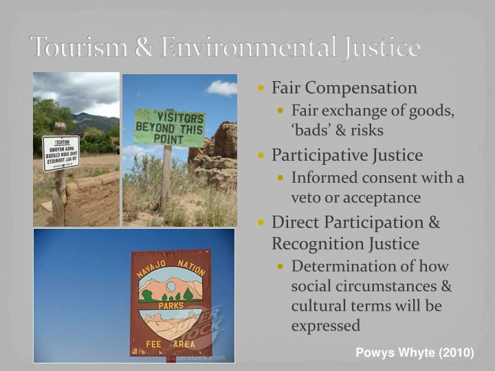 Tourism & Environmental Justice
