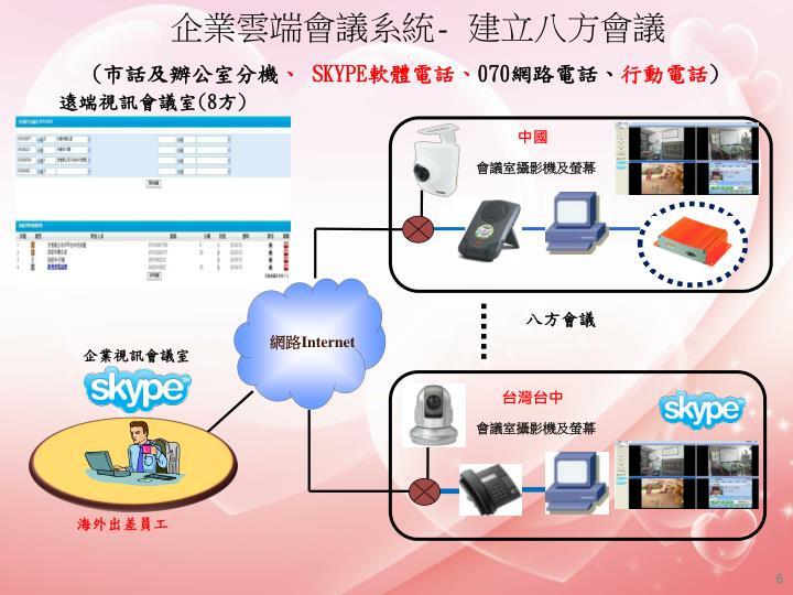 企業雲端會議系統