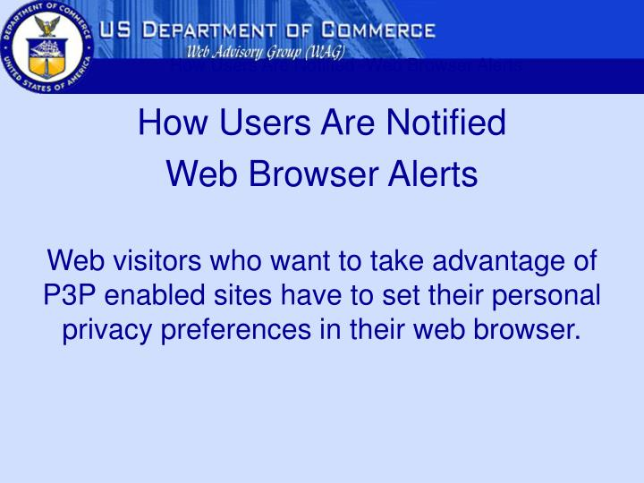 How Users Are Notified