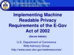 u s department of commerce web advisory group http www osec doc gov webresources