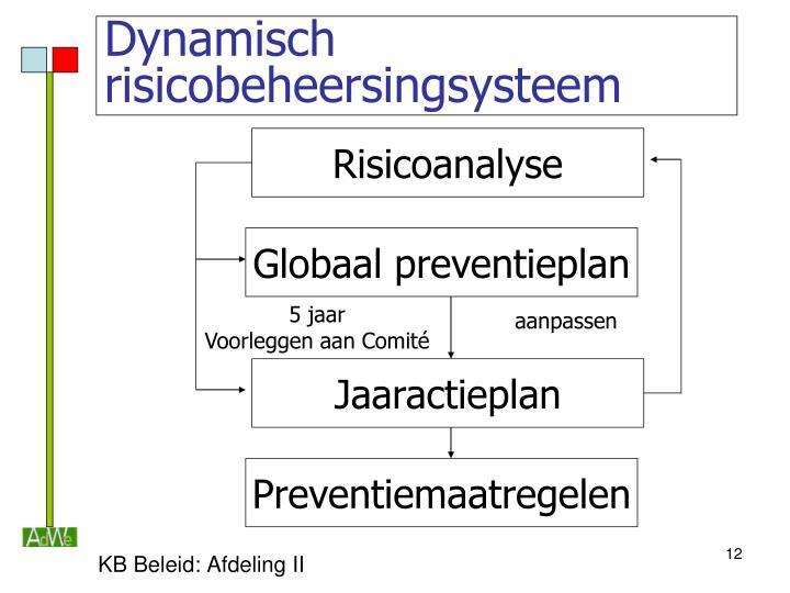 Dynamisch risicobeheersingsysteem