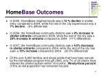home base outcomes